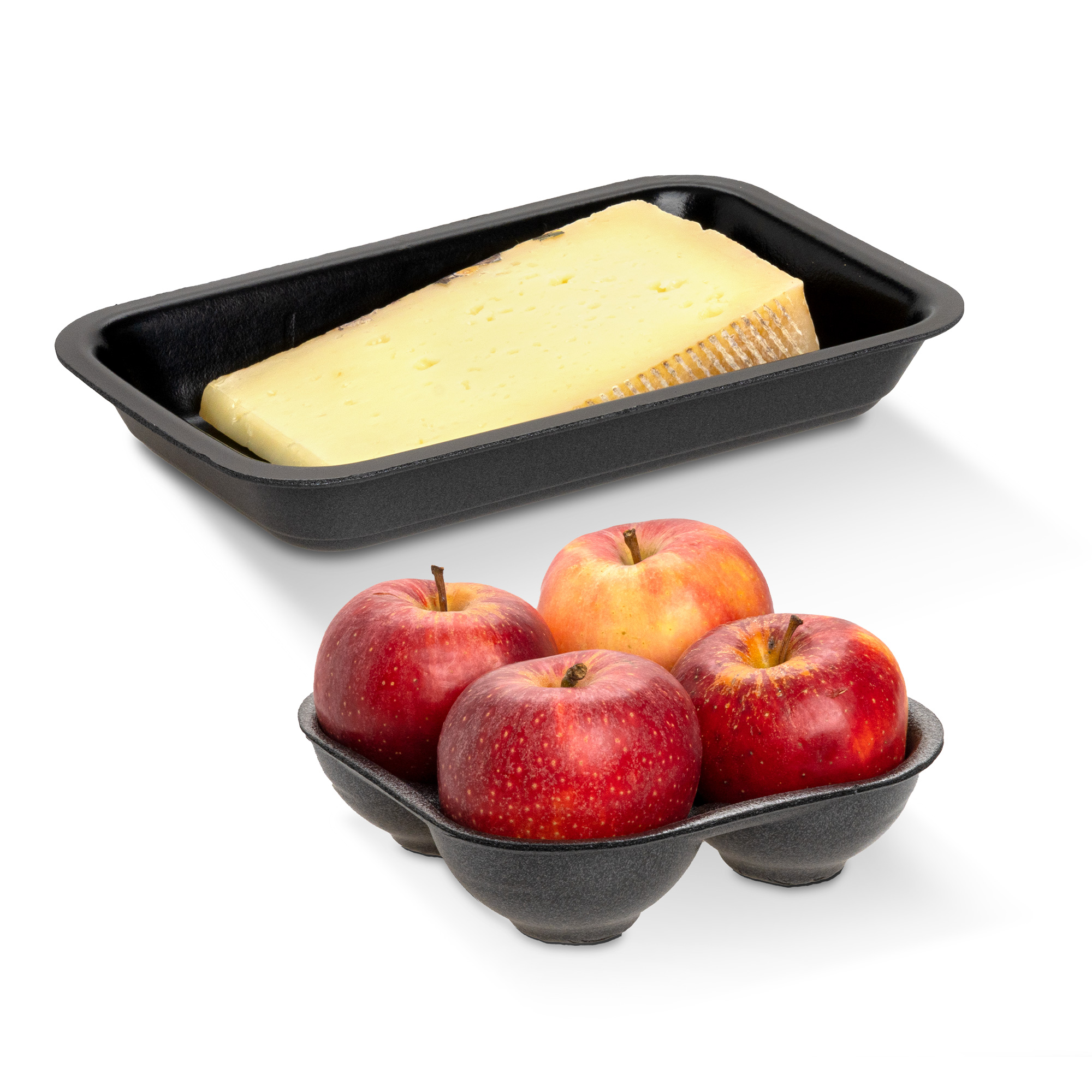 Cheese and apple